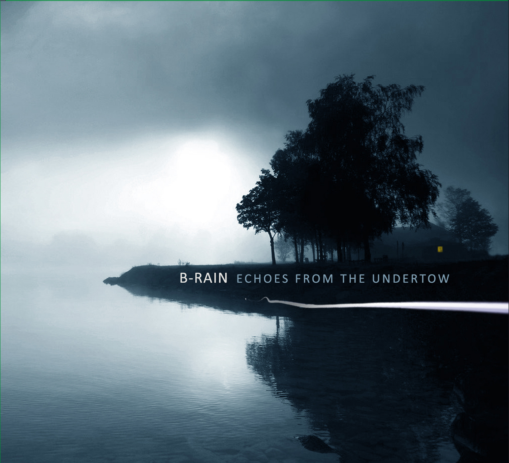 "B-RAIN - ""Echoes from the undertow"" CD Digipack"